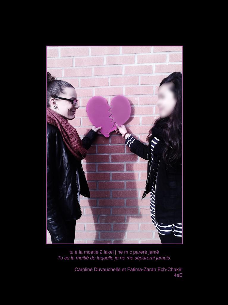 coeur moitié