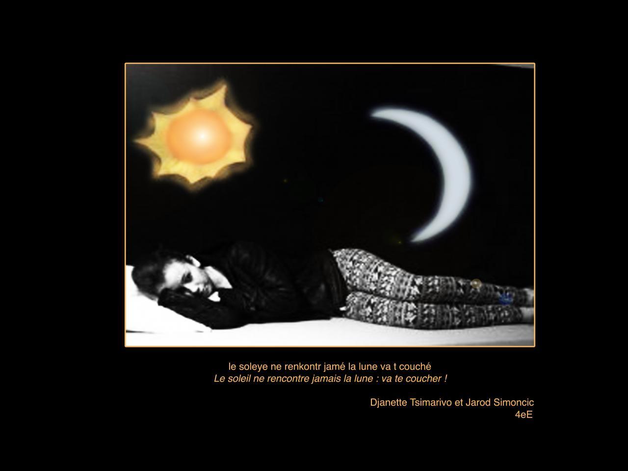 soleil lune couchée