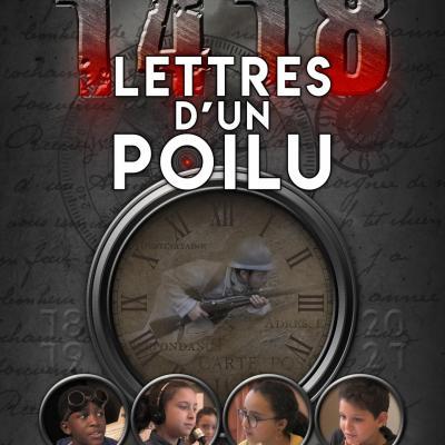 2020 affiche lettres du poilu