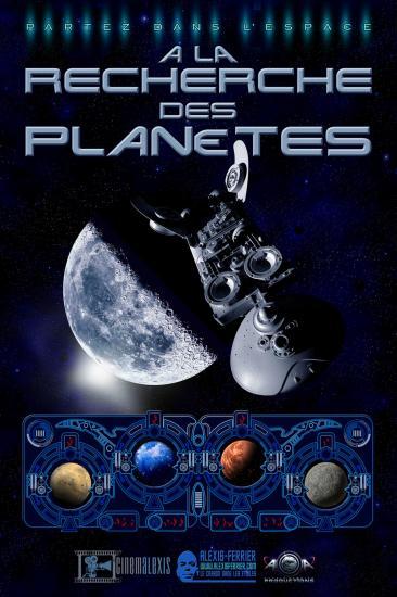 Affiche a la recherche des planetes