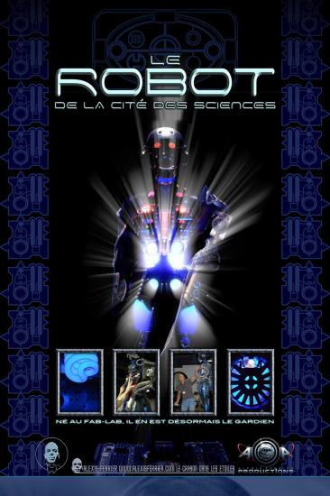 Affiche robot cite des sciences