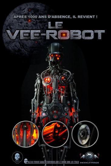 Affiche vee robot