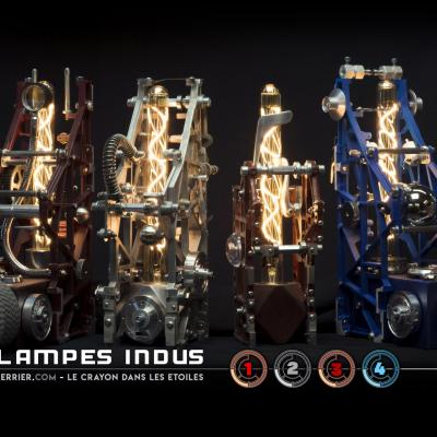 Lampes indus 1234 a